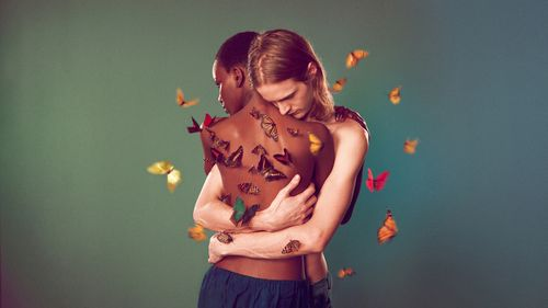 Edun couple papillon